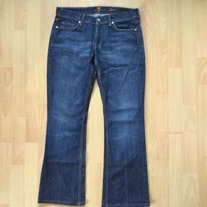 Seven 7 for All Mankind 29x30 Flynn Jeans. Bootcut